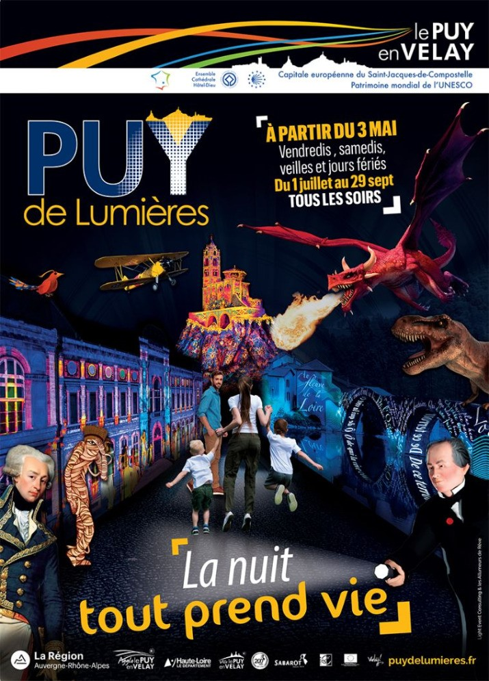 puy de lumiere2019 h tel saint jacques. Black Bedroom Furniture Sets. Home Design Ideas